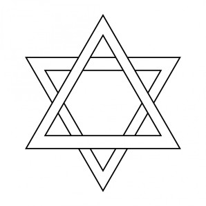 star-of-david-outline